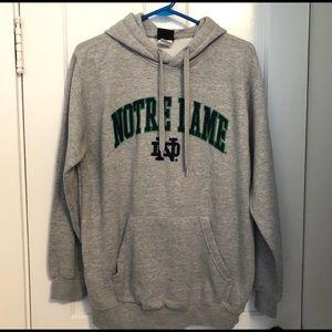 EUC Genuine Stuff Notre Dame College Hoodie